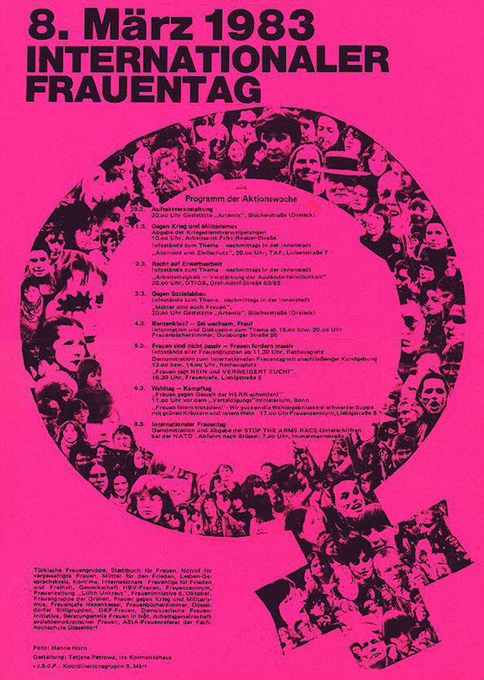 8. [Achter] März 1983 Internationaler Frauentag
