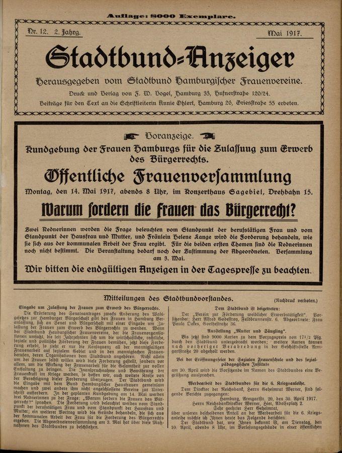 Stadtbund-Anzeiger 2(1917)12