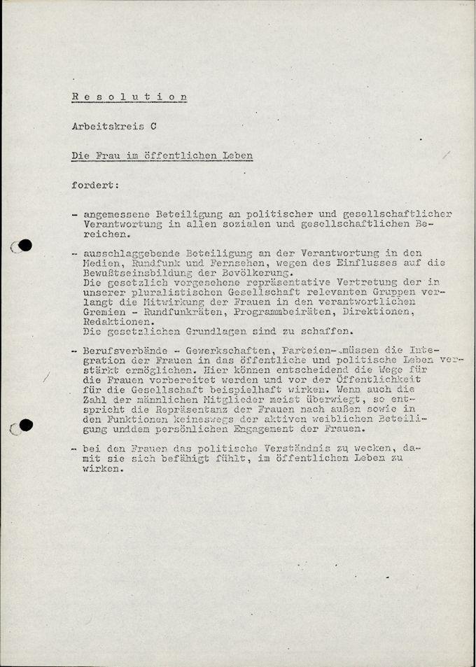 Resolution / Seite 1