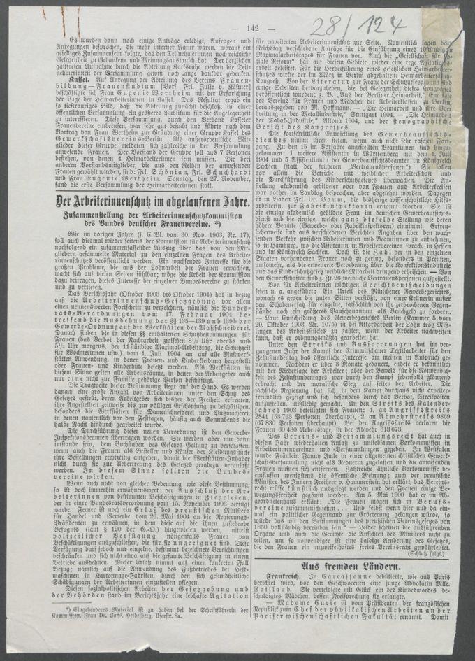 Korrespondenzen, Anschreiben und Sitzungsprotokolle der Kommissionen / Seite 311