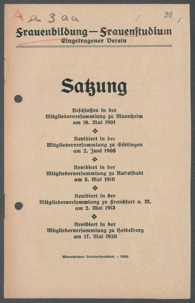 Verbände und Vereine F-G / Seite 5
