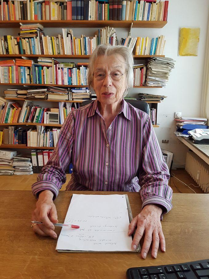 Die feministische Sozialwissenschaftlerin Dr. Carola Möller im Jahr 2017