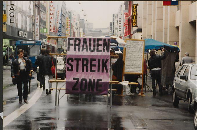 Frauenstreiktag 1994